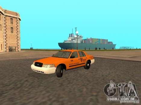 Ford Crown Victoria San Francisco Cab para GTA San Andreas
