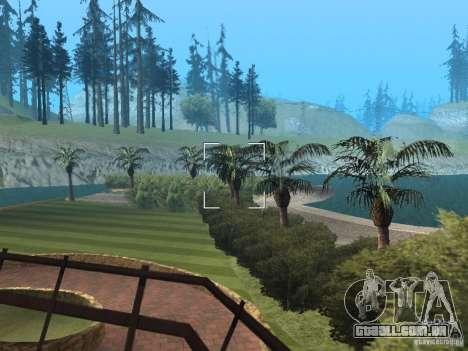 Mansão da ilha para GTA San Andreas por diante tela