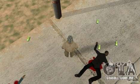 G ucraniano para GTA San Andreas segunda tela