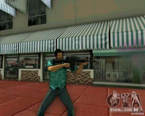 M4A1 para GTA Vice City terceira tela