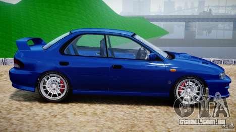Subaru Impreza WRX STI 1999 v1.0 para GTA 4 esquerda vista