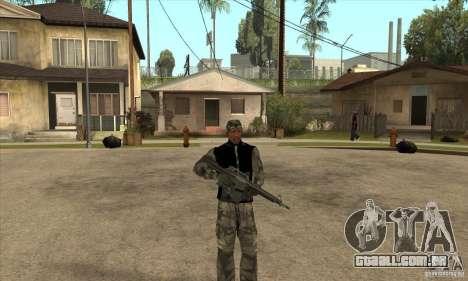 Roupa de camuflagem para GTA San Andreas