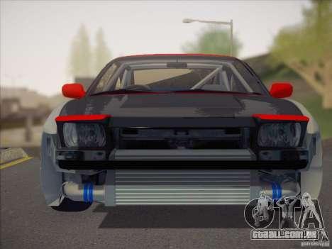 Nissan RPS13 Drift Korch para GTA San Andreas vista direita