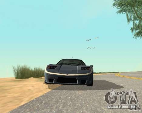 Soquette do GTA 4 para GTA San Andreas vista traseira