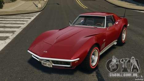 Chevrolet Corvette Stringray 1969 v1.0 [EPM] para GTA 4
