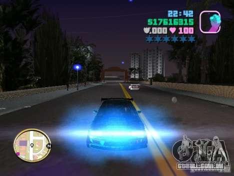 Nissan Silvia S15 Kei Office D1GP para GTA Vice City vista inferior