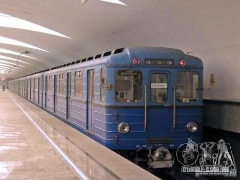 Metro e para GTA San Andreas vista superior