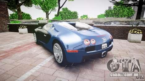 Bugatti Veyron 16.4 v3.0 2005 [EPM] Strasbourg para GTA 4 vista lateral