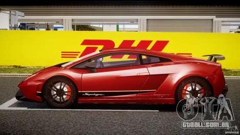 Lamborghini Gallardo LP570-4 Superleggera 2011 para GTA 4 vista interior