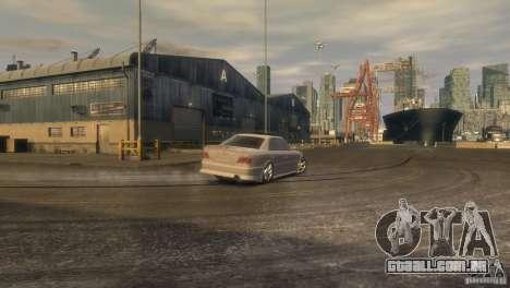 Toyota Chaser 2.5 Tourer V para GTA 4 vista de volta