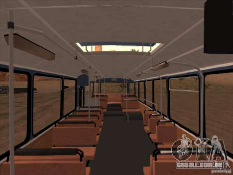 MAN SL200 Exclusive v.1.00 para GTA San Andreas vista inferior