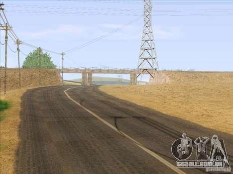 HQ Country Desert v1.3 para GTA San Andreas décimo tela