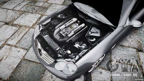 Mercedes Benz SL65 AMG para GTA 4 vista inferior