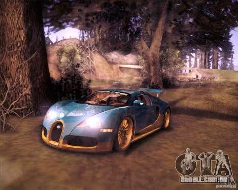 Bugatti Veyron Super Sport para GTA San Andreas esquerda vista