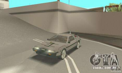 DeLorean DMC-12 (BTTF3) para GTA San Andreas