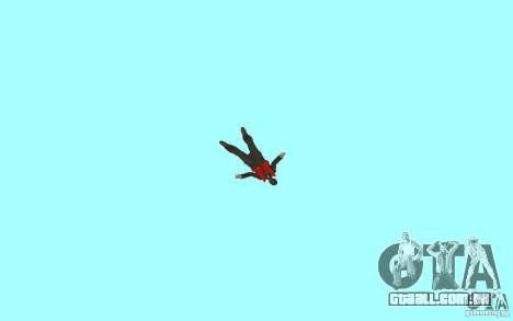 Unique animation of GTA IV V3.0 para GTA San Andreas décimo tela