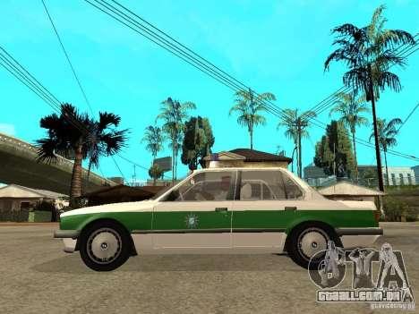 BMW E30 323i Polizei para GTA San Andreas