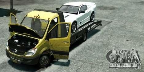 Mercedes-Benz Sprinter 3500 para GTA 4 vista direita