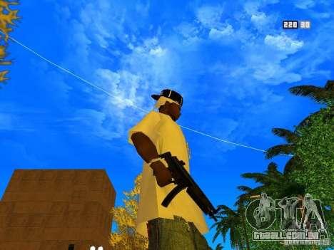 New Weapon Pack para GTA San Andreas nono tela