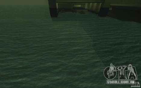 Água de HD para GTA San Andreas segunda tela