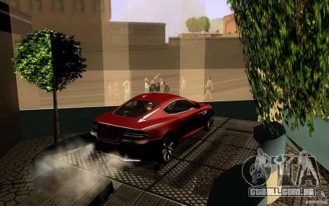 Aston Martin Virage V1.0 para GTA San Andreas vista inferior