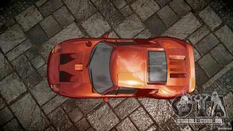Ford GT para GTA 4 vista direita