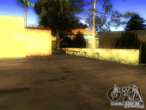 Armas na Grove Street para GTA San Andreas sexta tela