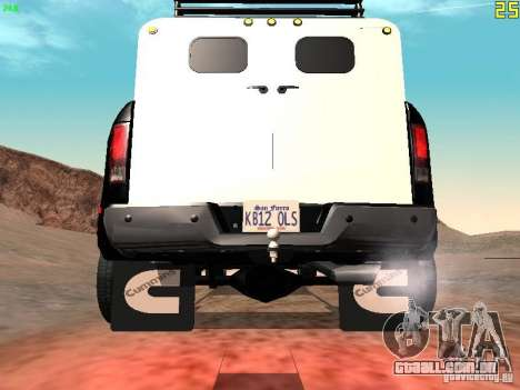 Dodge Ram 3500 Unmarked para GTA San Andreas vista direita