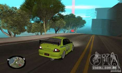 Corrida de rua para GTA San Andreas twelth tela