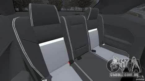 Dodge Challenger SRT8 2009 [EPM] para GTA 4 vista lateral