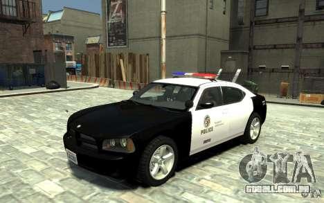 Dodge Charger LAPD V1.6 para GTA 4