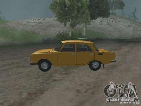 AZLK 2140 1981 para GTA San Andreas esquerda vista