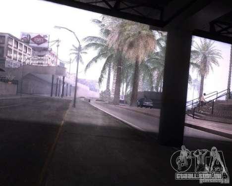 ENBSeries para Ultra Pack Vegetetions para GTA San Andreas por diante tela
