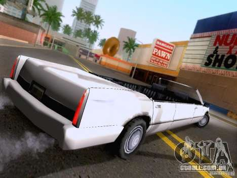 Stretch Cabrio para GTA San Andreas esquerda vista