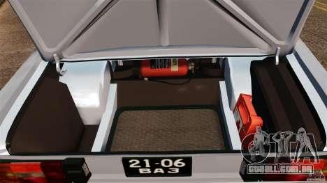 VAZ-2106 para GTA 4 vista lateral
