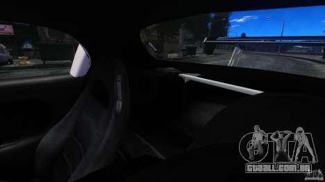Mazda RX-7 FnF para GTA 4 vista interior