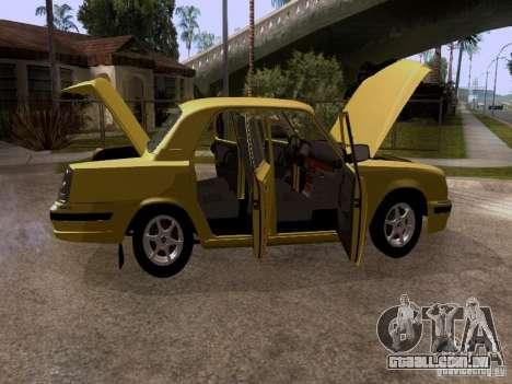 GAZ Volga 31107 para vista lateral GTA San Andreas