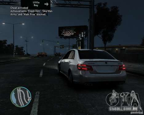 Mercedes Benz B63 S Brabus v1.0 para GTA 4 traseira esquerda vista