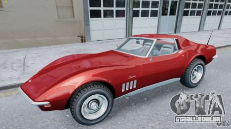 Chevrolet Corvette Stingray para GTA 4 esquerda vista