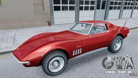 Chevrolet Corvette Stingray para GTA 4 esquerda vista