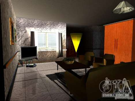 TV nova para GTA San Andreas por diante tela