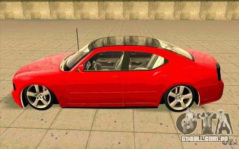 Dodge Charger RT 2010 para GTA San Andreas esquerda vista