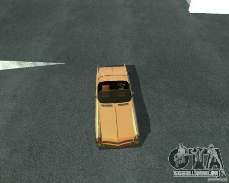 Peiote de GTA 4 para GTA San Andreas traseira esquerda vista