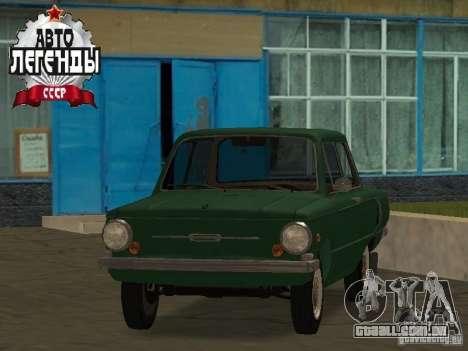 ZAZ 968 dreno para GTA San Andreas