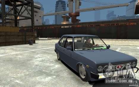 Tofas 131 Sahin para GTA 4 vista de volta