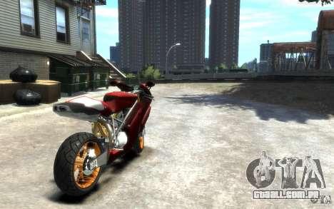 Ducati 999R para GTA 4 traseira esquerda vista