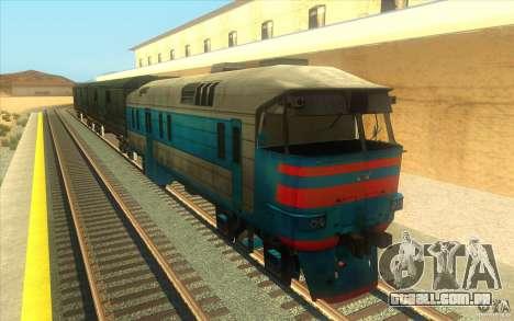 Um trem do jogo Half-Life 2 para GTA San Andreas