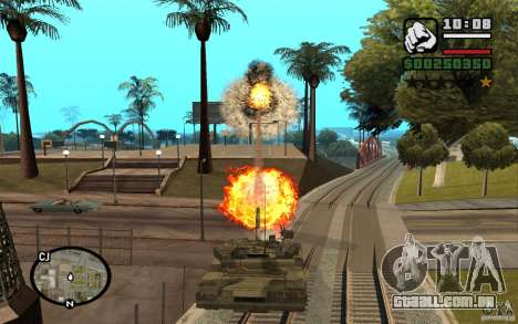 Hydra, mod Panzer para GTA San Andreas