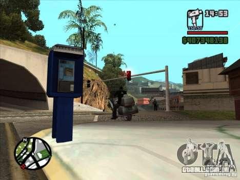 Pequenas curiosidades para GTA San Andreas sexta tela