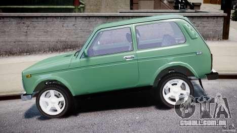 VAZ 21214 Niva (Lada 4x4) para GTA 4 vista de volta